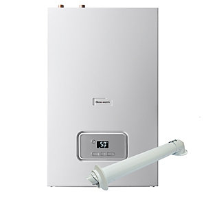 Glow-worm Energy 18R Gas Heat Only Boiler ErP & Horizontal Flue Pack