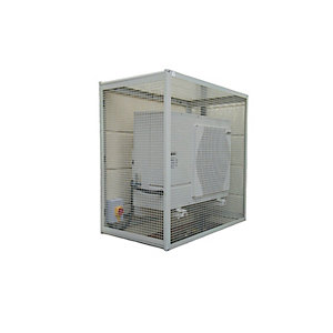Pump House Protective CG-750M Air Source Heat Pump Guard 1150mm Hx1150mm Wx750mm