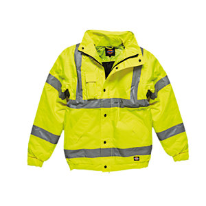 4TRADE Bomber Jacket High Visibility EN471 CL3 Medium