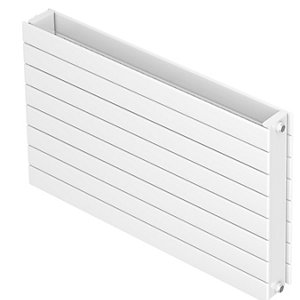 QRL Aria Horizontal Double Panel Double Convector Radiator 433 x 1400 mm QHP22S4314