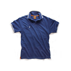 Scruffs Worker Polo 2015 in Blue - Medium