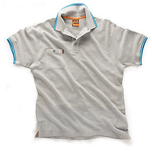 Scruffs Worker Polo Grey Large
