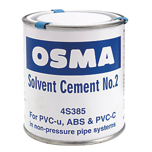 Osma Osmasoil 4S385 System Ancillaries Solvent Cement No2 500ml Can