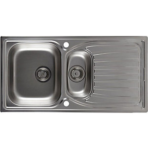 Astracast Alto Kitchen Sink Inset 1.5 AO15XBHOMESK