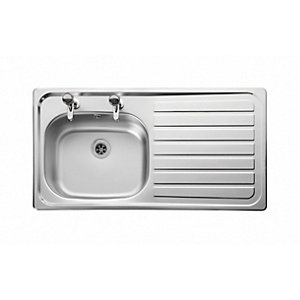 Boss™ 950 x 508 2 tap hole right hand sink