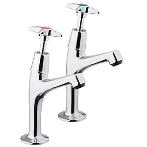 iflo Cross Pillar Kitchen Taps