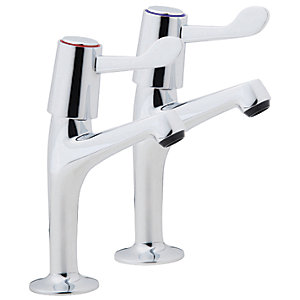 iflo Lever Pillar Kitchen Taps