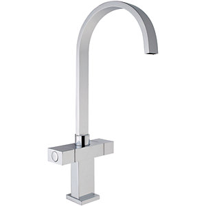 iflo Tatton Monobloc Mixer Kitchen Tap (Square Swan Neck)