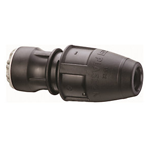 Plasson Push-Fit Universal Pipe Coupling 25mm x 24-28mm