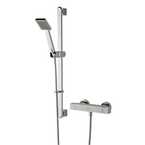 Bristan Quadrato Thermostatic Bar Mixer Shower QD SHXSMFF C