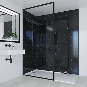 Multipanel Classic Bathroom Wall Panels Square Edged Stardust