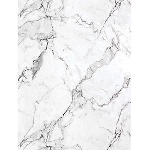 Multipanel Linda Barker Collection Bathroom Wall Panel Square Edged Calacatta Marble
