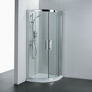 Ideal Standard Synergy Offset Quadrant Shower Enclosure 900 x 800 mm L6286EO