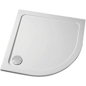 Mira Flight Low Profile Offset Quadrant Shower Tray 1200 x 900 mm (Left Hand) 1.1697.024.WH