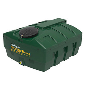 Harlequin 1200Ite High Specification Bunded Low Profile Oil Tank Complete & Tankpack