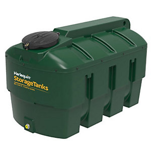 Harlequin 2000Ite High Specification Bunded Horizontal Oil Tank Complete & Tankpack