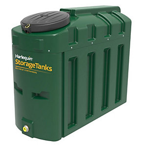 Harlequin 650Ite High Specification Bunded Slimline Oil Tank Complete & Tankpack