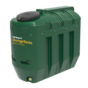 Harlequin 1100ITE High Specification Bunded Slimline Oil Tank Complete & Tankpack