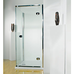 Kudos Infinite Pivot Door Shower Enclosure 800 mm (Right Hand) 4HD80RHS