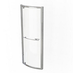 Kudos Original Bowed Pivot Door Shower Enclosure 800 mm 3BPD80S