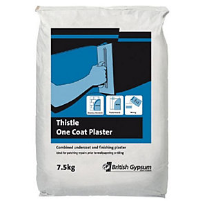 Thistle One Coat Plaster 7.5Kg