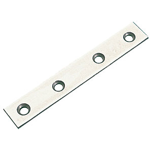 4TRADE Mending Plates Zinc Plated 75mm (Pack of 4)