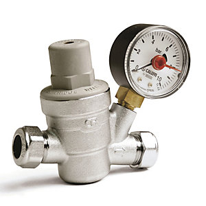 Altecnic 533241H Ltc Pressure Reducing Valve Complete With Gauge 1/2inch