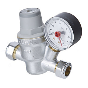 Altecnic Pressure Reducing Valve Complete with Gauge 15 mm 533841H