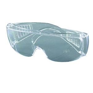 4TRADE Impact & Scratch Resistant Safetycover Spectacles
