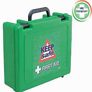 Greenhams Keepsafe Standard HSE 10 Person First Aid Kit