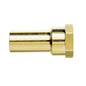 JG Speedfit Brass Female Stem Adaptor 22mm x 3/4in MW502216N