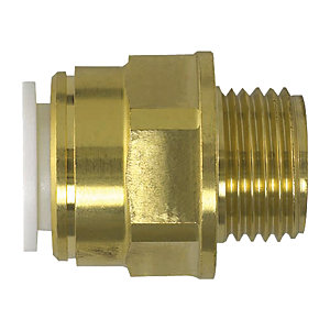 JG Speedfit Brass Male Coupler 10 mm x 1/2 inch BSP 10MC(1/2)