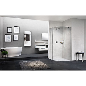 Novellini Young Clear Glass Quad Shower Enclosure 2000mm x 900mm Y2R1A90-1K