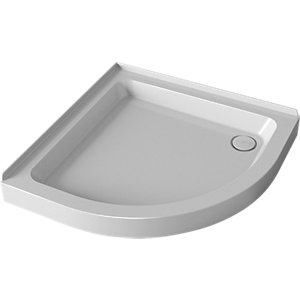 Mira Flight Quadrant Shower Tray 900 mm (2 Upstands) 1.1783.043.WH
