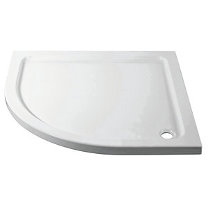 iflo 900 mm Quadrant Abs Capped Slimline Stone Shower Tray