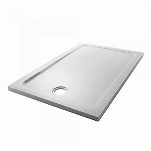 Mira Flight Low Profile Rectangle Shower Tray 760 x 1000 mm 1.1697.045.WH