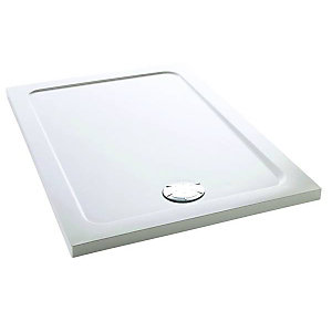 Mira Flight Safe Low Profile Rectangle Shower Tray 1100 x 800 mm 1.1697.013.AS