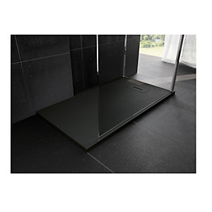 Novellini Novosolid 1200 x 700mm Black Tray