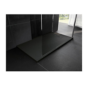 Novellini Novosolid 1200 x 800mm Black Tray