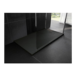 Novellini Novosolid 1200 x 900mm Black Tray