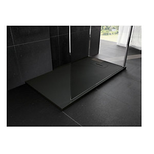 Novellini Novosolid 1400 x 700mm Black Tray