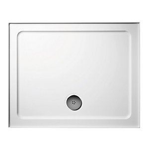Ideal Standard Idealite Upstand Low Profile Rectangular Shower Tray and Waste 1200 x 760 mm L633801