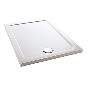 Mira Flight Safe Low Profile Rectangle Shower Tray 1000 x 760 mm 1.1697.008.AS