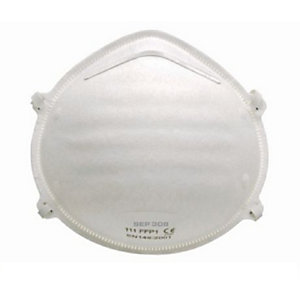 4TRADE Respirator Cup (Dust) FFP1 Pack of 2