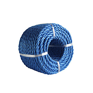 4Trade Polyprop Blue Rope 30m x 6mm Coil