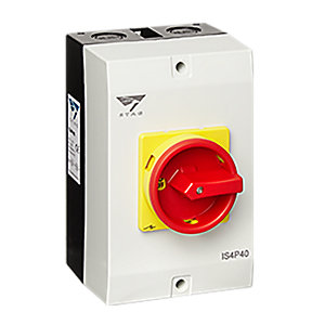 Stag IS4P40 40A 4POLE Rotary Switch