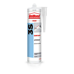UniBond 3S Sanitary Sealant White