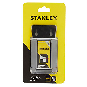 Stanley 1992 Heavy Duty Trimming Knife Blades 100 Blade Dispenser