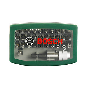 Bosch 2607017063 Screwdriver Bit Set - 32 Pieces