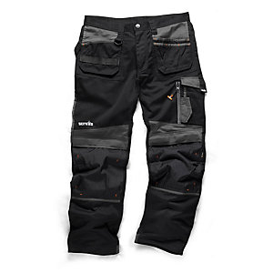 Scruffs Black 3D Trade Trouser